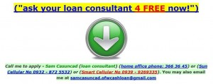 Apply for Personal Loan Contact Me Now