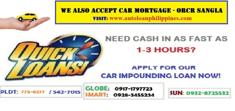 car loan without taking car
